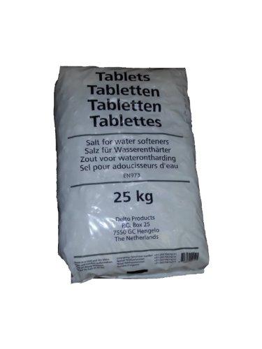 Regenit® Salztabletten – zur Regenerierung von Wasserenthärtungsanlagen – 25 kg – 1 Sack